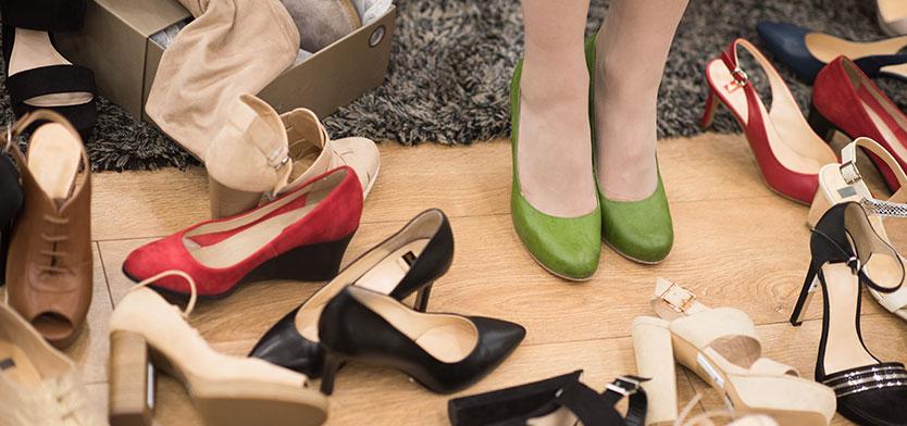 Nya trenden för skor på nätet